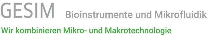 GeSiM Bioinstrumente und Mikrofluidik Logo